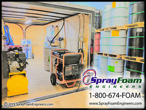 Graco A25 Spray Foam Rig Spray Insulation Machine Equipment Trailer Package