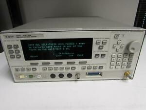 Agilent Hp 83640l Synthesized Sweep Signal Generator 10 Mhz To 40 Ghz Opt None