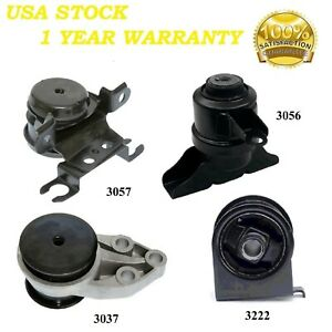 4 Pcs Front Motor Trans Mount Fit 2001 2004 Ford Escape 2 0l 3 0l