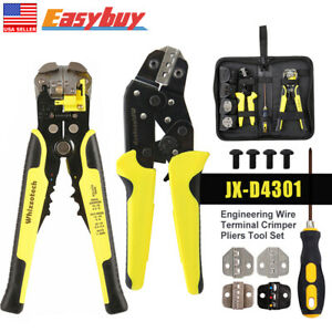 Jx d4301 Wire Crimpers Engineering Ratcheting Terminal Crimping Pliers Cord Tool