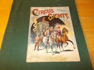 Dated 1890 By The Mcloughlin Brothers Children S Book Circus Sights From Circus