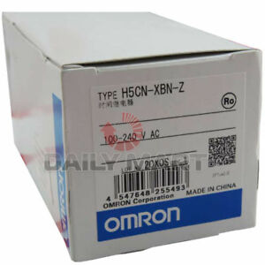 New Omron H5cn xbn z Digital Timer Relay 100 240v Ac In Box