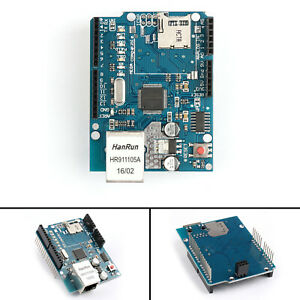 Ethernet Shield W5100 R3 Network Expansion Board For Arduino Uno Mega2560 T2