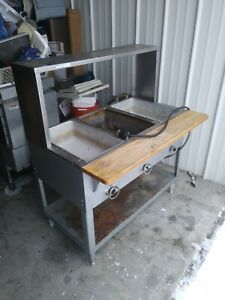 Duke Commercial 3 Well Buffet Steam Table Food Warmer 230v Used