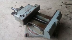 Heavy duty Metal Shaper Or Milling Vise 360 rotate 16 In Jaws Great Condition