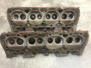 283 Chevy Heads 1960 3774682 Hot Tanked magnufluxed Dated December 18 1960