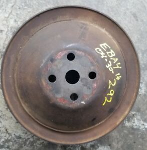 Chevy 292 2 Groove Pulley
