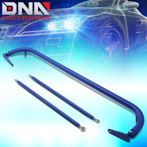 Nrg Hbr 002bl 49 Aluminum 4 point Racing Safety Seat Belt Chassis Harness Bar