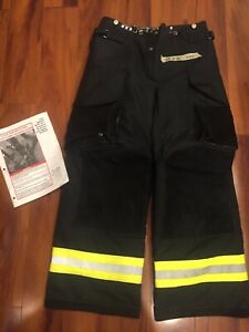 Firefighter Janesville Lion Apparel Turnout Bunker Pants 30x30 04 Black New Os