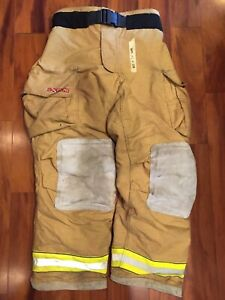 Firefighter Turnout Bunker Pants Globe 40x34 G Extreme 2008 Halloween Costume