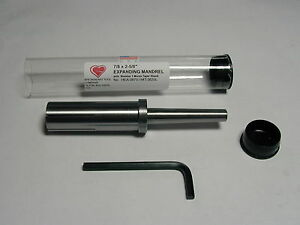 7 8 Inch Expanding Mandrel arbor With 1 Morse Taper Shank American Made