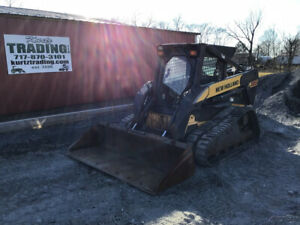 2006 New Holland C185 Skid Steer Loader With Cab