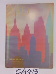 Vintage Md Medical Magazine 1957 Advertising Doctor Medicine And The City