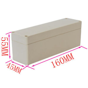 5x Waterproof Plastic Box Electronic Project Enclosure Case 160x45x55mm l w h