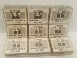 9 Ap Integrated Circuit Test Clip 923700 Tc16 16 Pin Test Clip Ap Incorporated