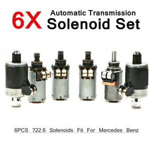 6pcs For Mercedes 722 6 Transmission Solenoid Kit 5 Speed Automatic