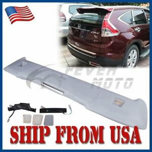 Us Car Unpainted Abs Roof Rear Trunk Spoiler Oe Style For Honda Crv 2012 2016 Fm