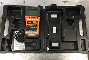 Brother Pt e500 P touch Industrial Label Maker Hard Case