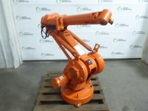 Used Abb Irb 1410 M2004 Type B 6 Axis Industrial Robot Arm