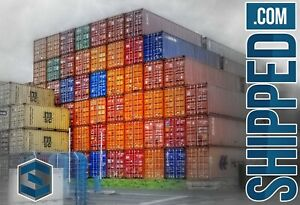 40 Hc Used Shipping Container We Deliver To Wilmington Nc