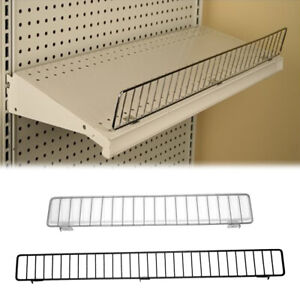 Gondola Shelf Wire Front Fence Fits Lozier Madix Shelving 36 Or 48