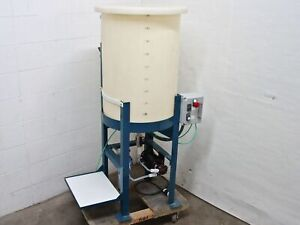 Ryan Herco 50 Gal Conical Drum W 24 Stand Magnetic Pump Water Filter Housing