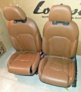 Audi Oem 4m Q7 2016 Brown Leather Ventilated Massage Heated Comfort Seats