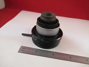 Vickers England Uk Condenser Diaphragm Iris Microscope Part Optics