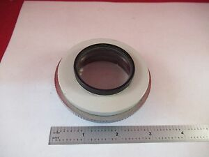 Vickers England Uk Brightfield Illuminator Lens Microscope Part Optics