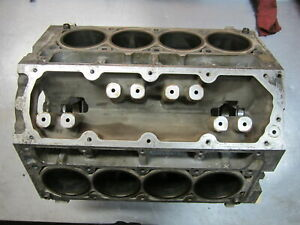 Bln41 Bare Engine Block Needs Bore 2011 Gmc Sierra 1500 5 3