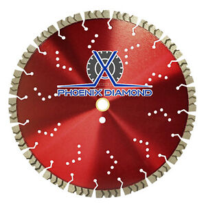 14 X 15mm Seg Premium Laser Welded Diamond Blade Hard Materials Brick Pa
