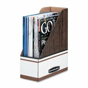 Magazine Storage File Boxes Holders Oversized Letter 12 Pack 07224 Office