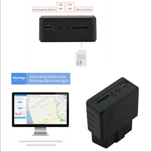 Mini Obd Car Gps Tracker Realtime Truck Tracking Gps Gprs Gsm Over Speed Alarm