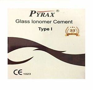 Permanent Glass Ionomer Cement Crown Bridge Dental Adhesive Luting Cement 20gram
