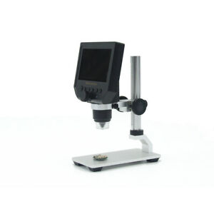 600x 4 3 Lcd 3 6mp Electronic Digital Video Microscope Led Magnifier Tool F7x1m