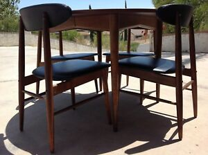 Mid Century Modern Danish Baumritter Dining Set Local Pick Up