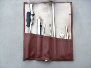 Porsche 911 930 944 964 968 993 Tool Tools Kit Roll Genuine With Bag Werkzeug 3