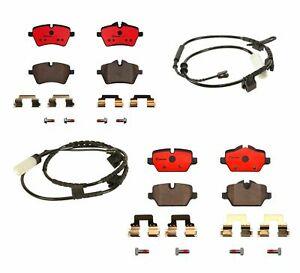 Front Rear Brembo Ceramic Brake Pads Kit For Mini Cooper Countryman Paceman