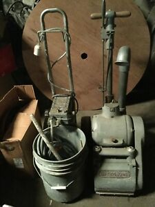 Speedmatic Floor Drum Sander With Accessories And Pads antique