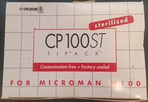 Gilson Microman Cp100st Model Sterile Tipacks For Microman M100 Cp 100st Pipette