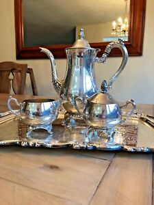 Oneida Silver Tea Coffee Service 5 Piece