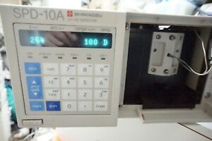 Shimadzu Spd 10a Hplc System Uv Vis Detector Agilent Waters Hp Working