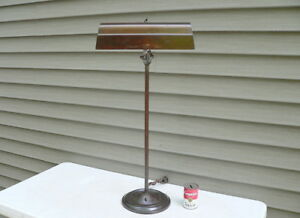 Faries Mfg Co Industrial Factory Desk Work Lamp Rare Form