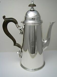 Sterling Silver Coffee Pot Sterling Hot Water Jug By Black Starr
