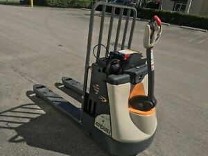 2014 Crown Electric Pallet Jack With On board Charger