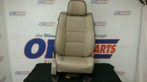 11 Jeep Grand Cherokee Overland Front Right Passenger Seat Tan Leather