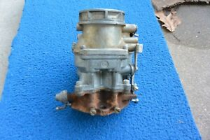 Ford Flathead V8 Carburetor 8ba Holley Ford Script 94 Two Barrel 1949 1953