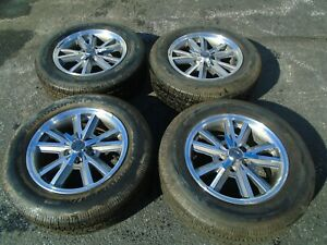 2002 2009 Ford Mustang 16 Wheel Rims Tires Set Of 4 Oem Hollander 3792c
