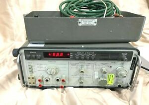 Hp 3551a Transmission Test Set Very Good Condition