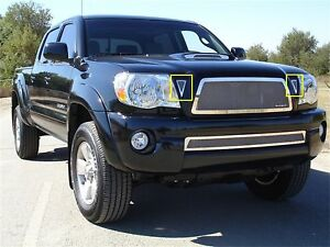 Ship From Usa Fits 2005 2010 Toyota Tacoma Gxtb90075 Durable Side Vent Grille Af